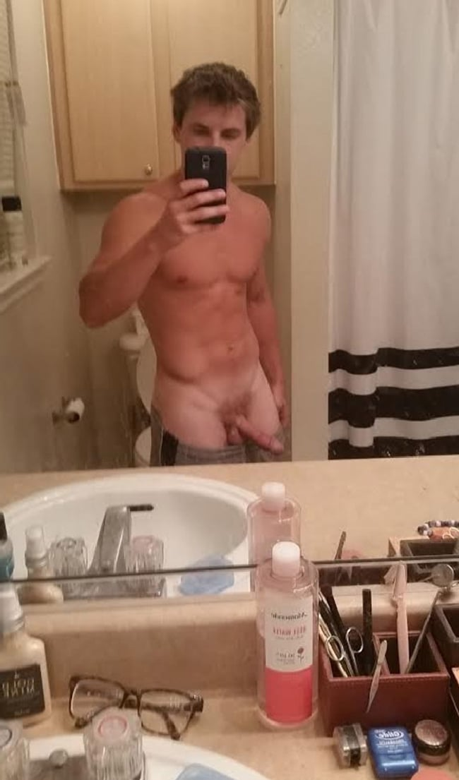 Nude Guy In Bathroom